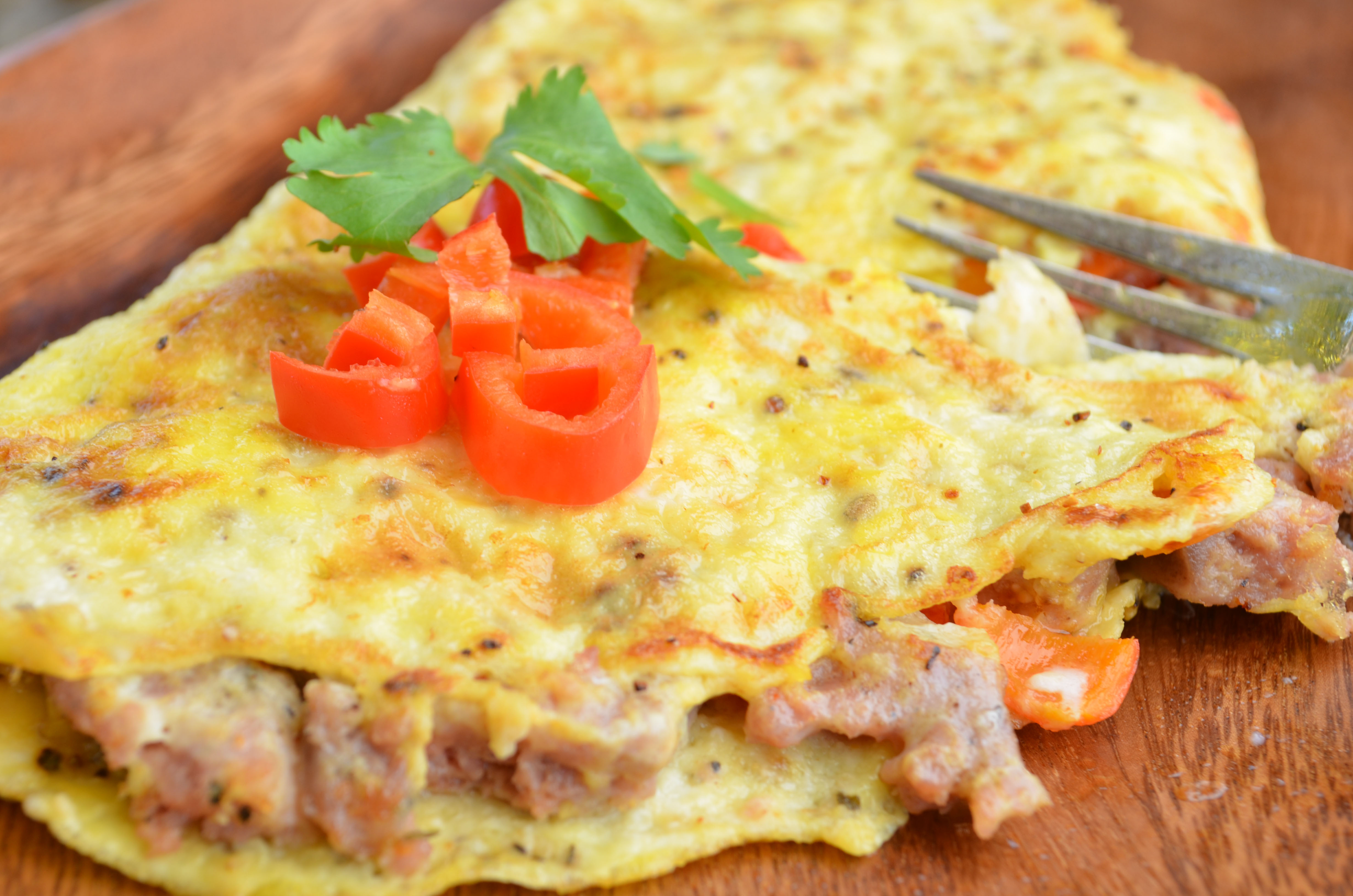 Omelet: calories and recipes 70