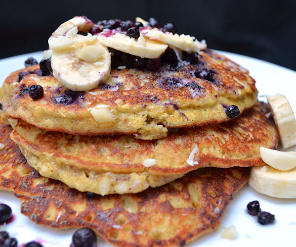 Improved Banana Almond Pancakes Recipe - Paleo Plan