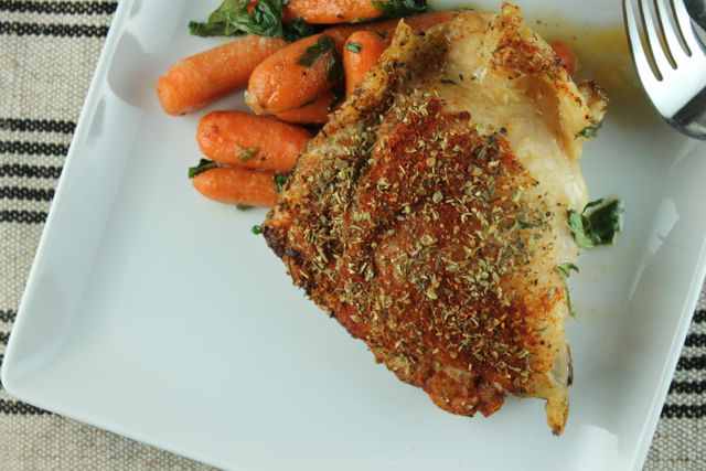 Paprika Roast Chicken with Carrots Recipe - Paleo Plan