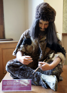 Otzi in his clothing