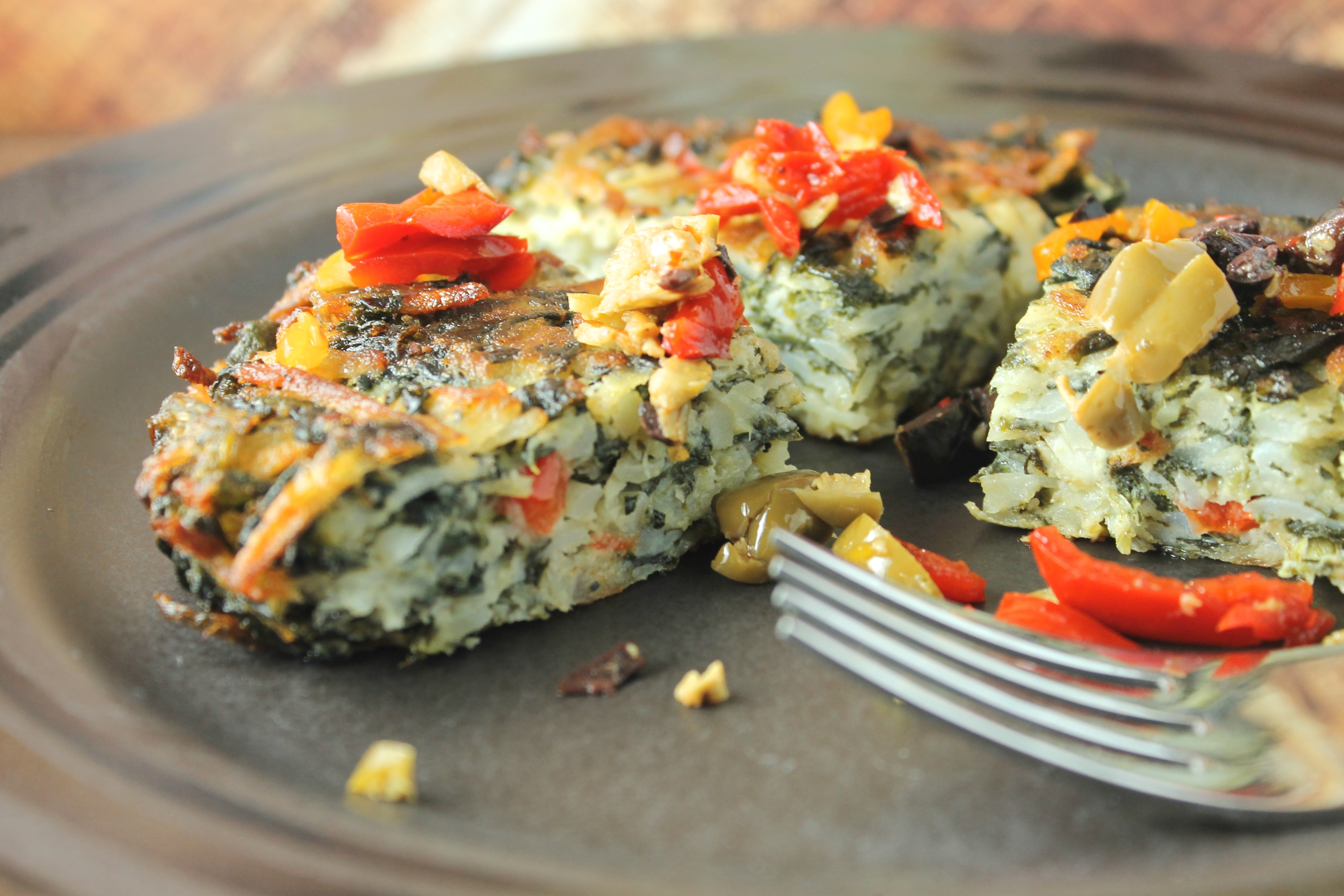 Mediterranean Vegetable Cake