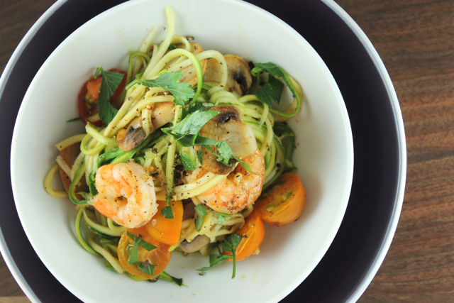 Shrimp-and-zucchini-pasta