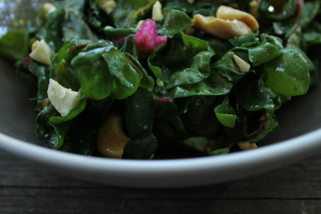 chard-and-cashew-saute