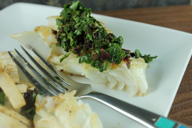 cod-with-arugula-tapenade