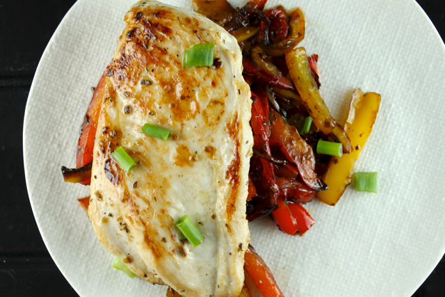 roast-chicken-with-balsamic-red-peppers