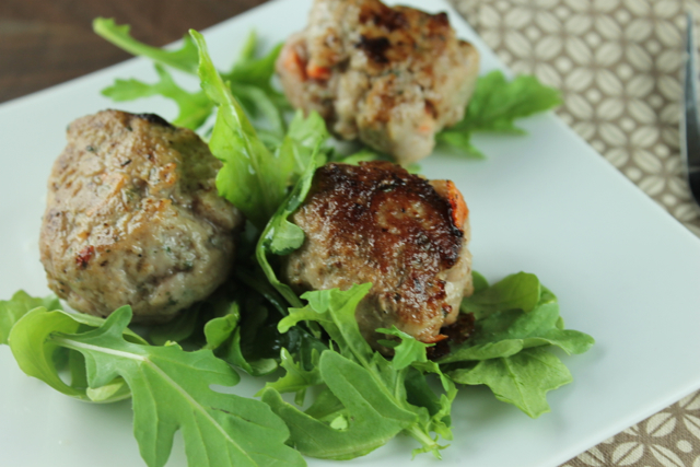 Turkey Vegetable Meatballs