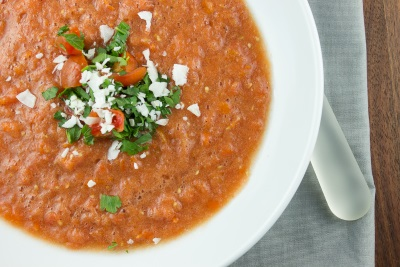 Coconut Tomato Soup