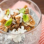 Coconut Pecan Chia Pudding