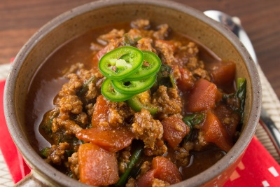 Vegetable Beef Chili