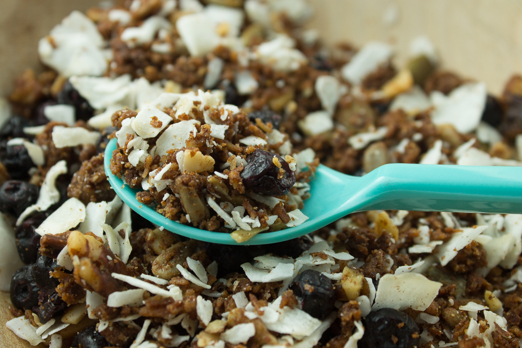 Blueberry and Coconut Cereal-2