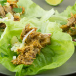 Shredded Pork and Pineapple Lettuce Wraps