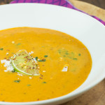 Ginger Carrot and Sweet Potato Soup