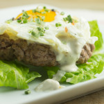 Sunny Side Up Burger with Cashew Cheese-3