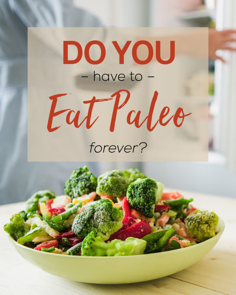 Do You Have to Eat Paleo Forever?
