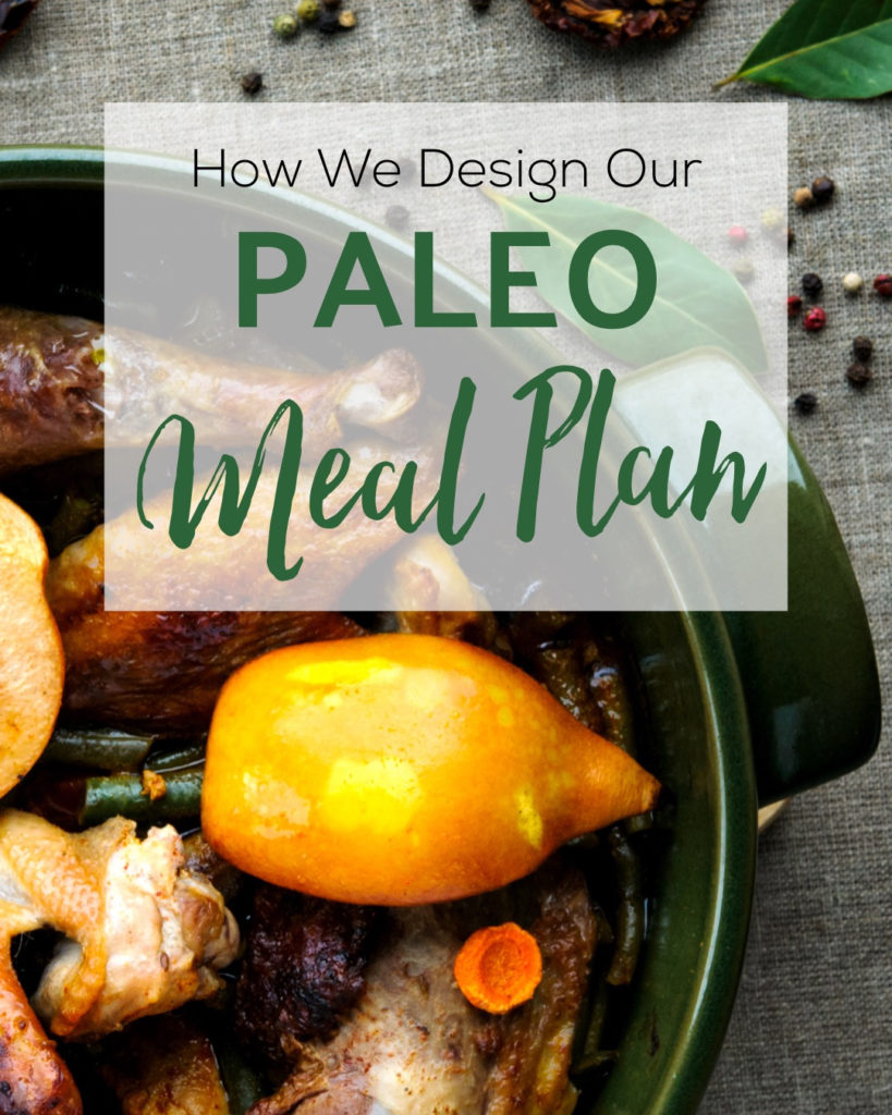 How We Design Our Paleo Meal Plan